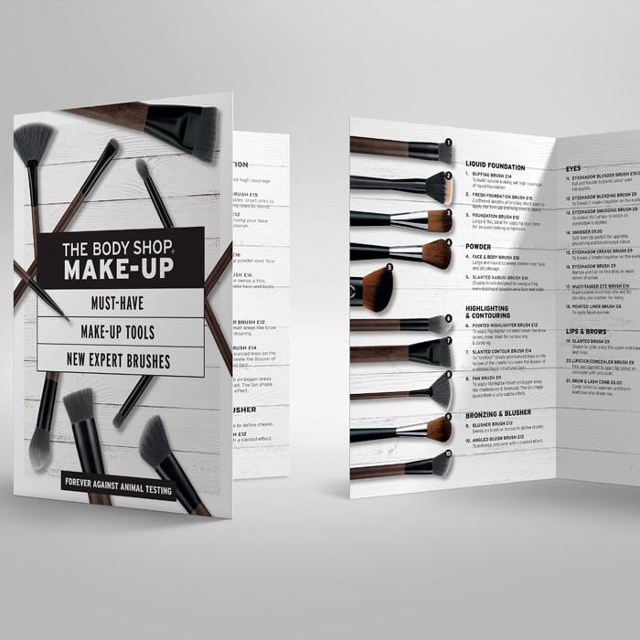 Product information card design